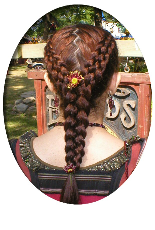 French braids by twisted sisters cindys french braiding gallery page 5 strand two into one wa zig zag part ccuart Images